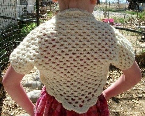 Crochet Shrugs Children Only New Crochet Patterns