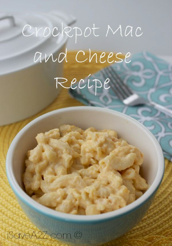 Crockpot Mac and Cheese the easy way!