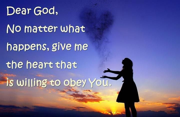 Obey God. . . | God is good.. | Pinterest
