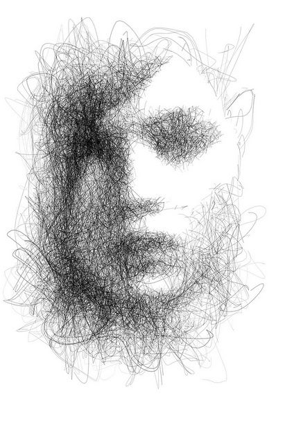 Scribble Drawing Art : Scribble marks and scribbles pinterest