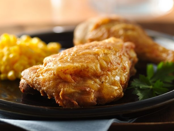 Skillet-Fried Chicken This is pretty basic soI think I'll add a little ...