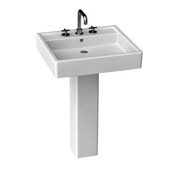 Porcher Pedestal Sink : Porcher Solutions 24