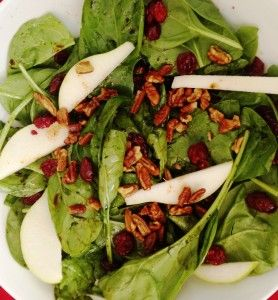 ... spinach salad! Amazing delish recipe from Fall Renewal 10 Day Detox
