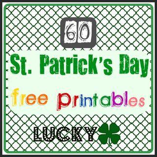 60 St Patrick's Day Free Printables