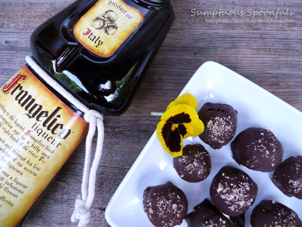 truffles chocolate truffles nutella truffles with frangelico