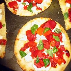 Goat Cheese Pizzas Recipe - Allrecipes.com