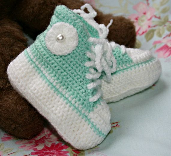 Pics Photos - High Tops Crochet Baby Pattern Crochet Baby ...