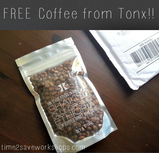 Woohoo!  I got my FREE Coffee!!  (Request Yours!)