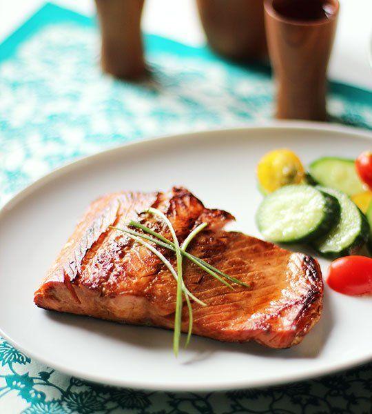 Simple Salmon Teriyaki
