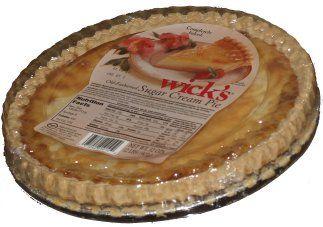 Wicks sugar cream pie