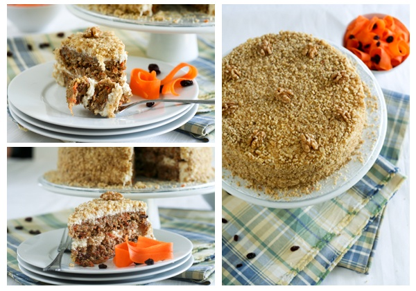 Healthy Carrot Cake and Cream Cheese Mousse | Recipe