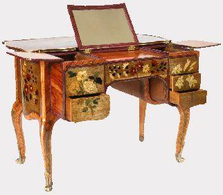 George II card table & chairs