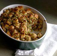 Apple Bacon Stuffing with Mushrooms and Leeks #Tastebudladies #Leeks # ...