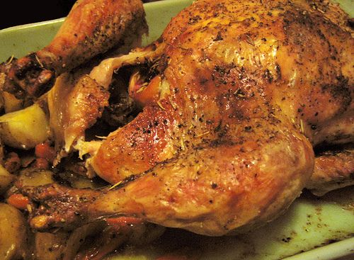 Rosemary and blood orange roast chicken. | food & drink | Pinterest