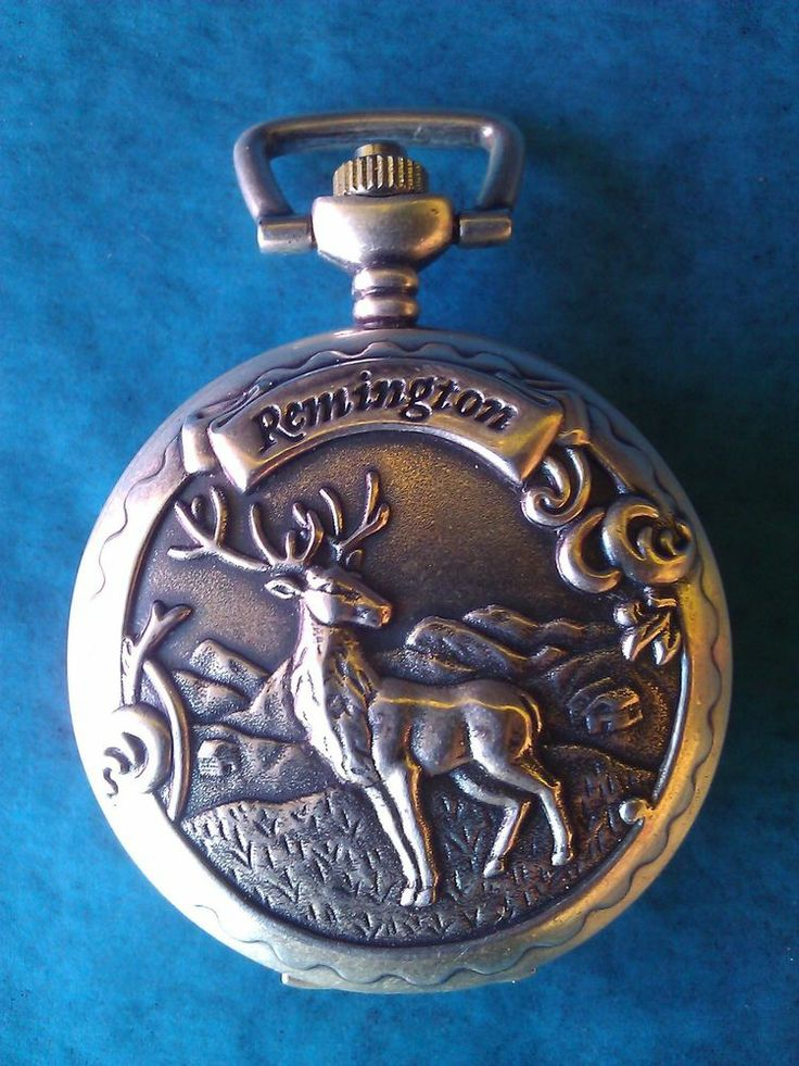 vintage pocket deer design remington