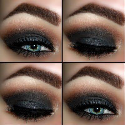 Dark & Dramatic Smokey Eye