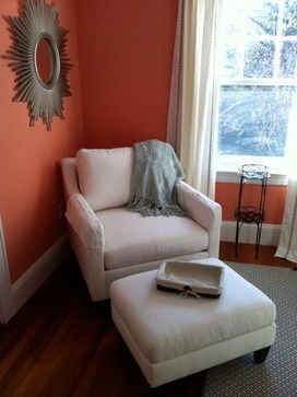 chair and ottoman bedroom pinterest