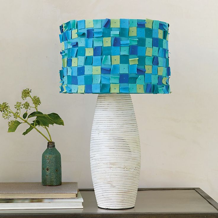 Dorm Decor: Confetti Lampshade
