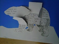 Students create interactive models showing the physical adaptations of 6 animals.
