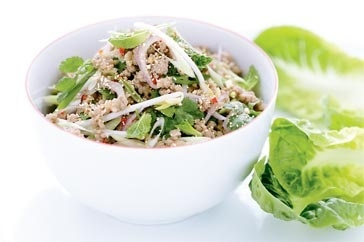 Pork Larb (Thai Salad With Pork, Herbs, Chili, And Toasted ...