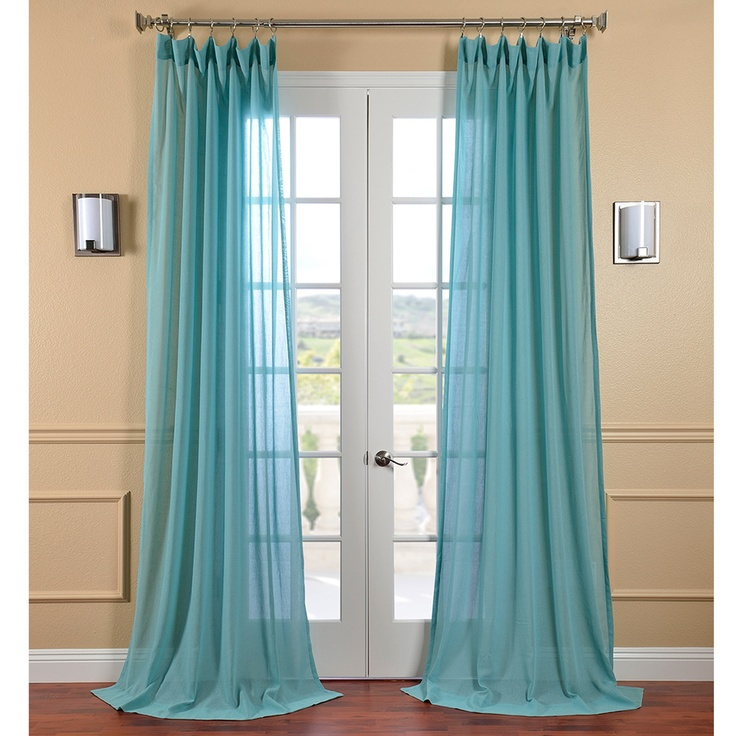 Sheer Curtains Bed Bath And Beyond Blue Sheer Floral Curtain Panels
