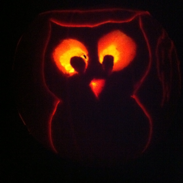 Owl pumpkin carving so cute and easy crafts pinterest
