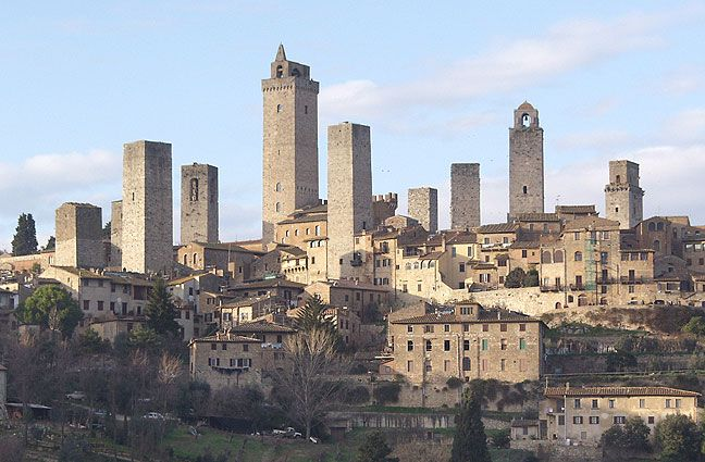 San Gimignano, Italy (Little Manhattan) | My Fav Travels | Pinterest