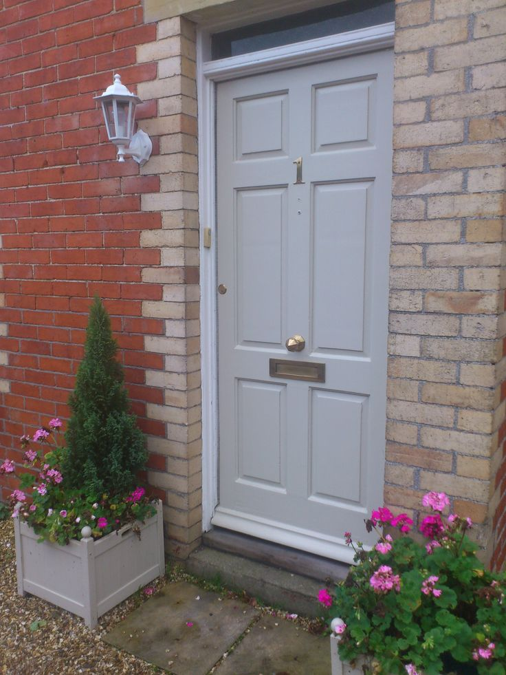 Farrow and ball old white house external pinterest for White front door