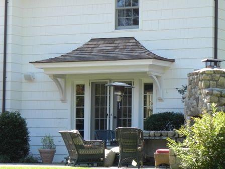 Door overhang for the home pinterest for Front door overhang ideas
