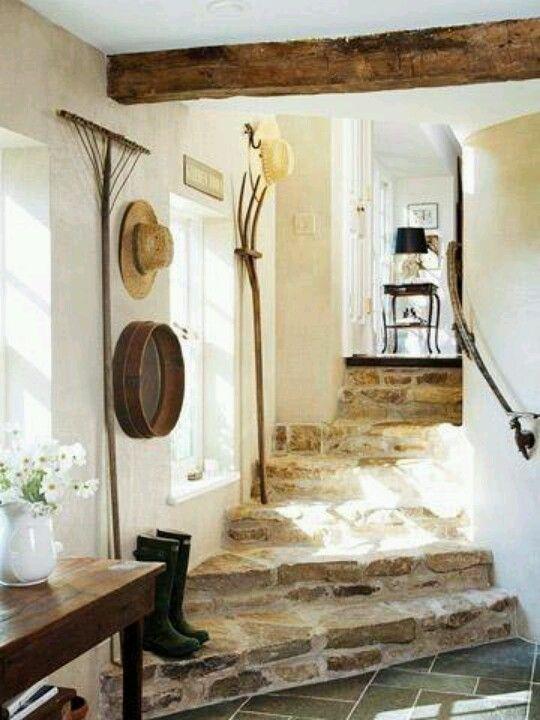Escalera de piedra for the home pinterest - Escaleras de piedra ...