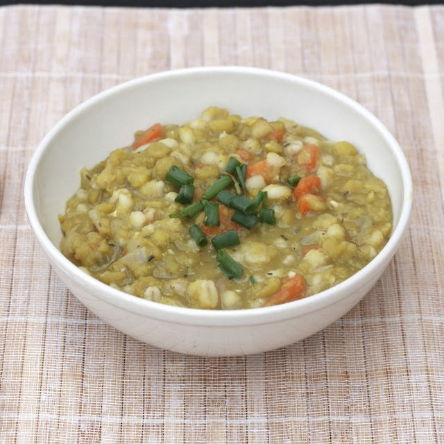 Split Pea & Barley Soup | Soups & Sauces | Pinterest