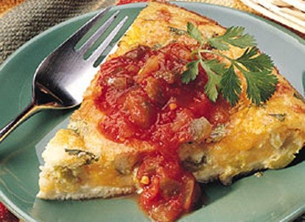 Quesadilla Pie; The great taste of the appetizer favorite quesadillas ...
