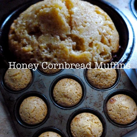 Honey Cornbread Muffins.....this is my go to cornbread recipe... will ...