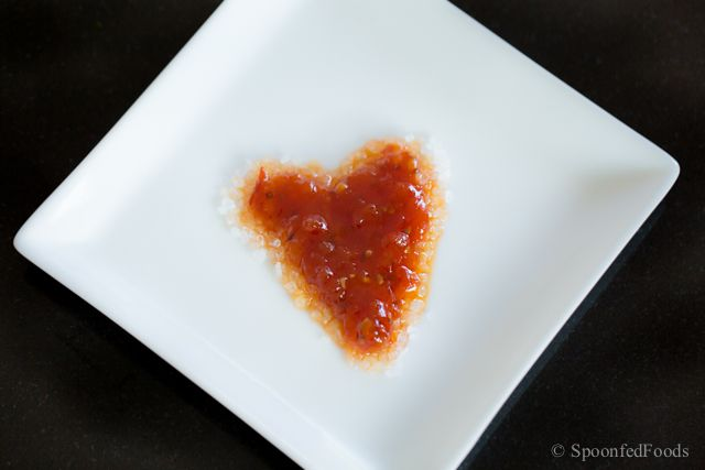 valentine's day savoury food