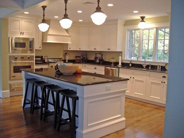 lighting fixtures and island kitchen storage ideas