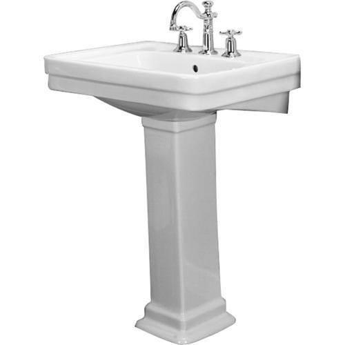 Sussex 660 Pedestal Lavatory, 4