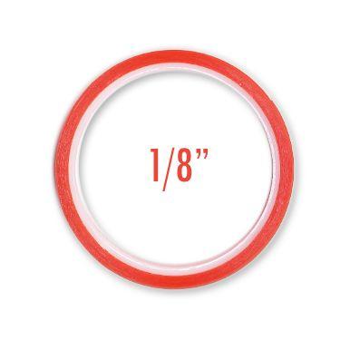 and V Enterprises - Premium Red Line Craft Tape - 1/8 inch x 5 yards