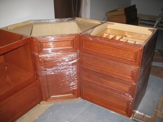 Corner Sink Cabinet Kitchen : Corner Prep Sink & Drawer Base--to make the main peninsula Kitch-it ...