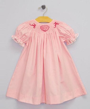 Pink Alabama Bishop Dress