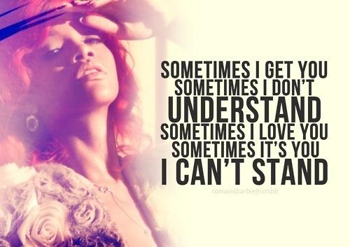 Rihanna song quotes