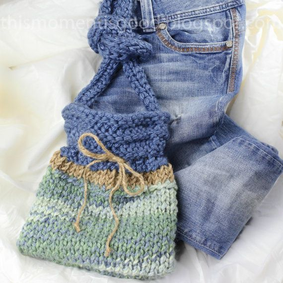 Quick Knit Loom Patterns : Loom Knit Weekender Handbag Pattern: PATTERN ONLY! Quick and Easy Pat?