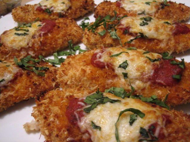Crispy Chicken Parmesan | Favorite Recipes | Pinterest