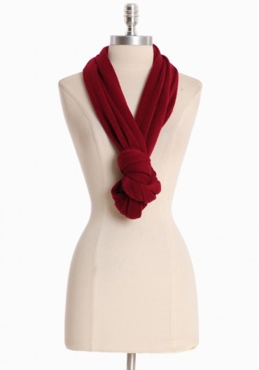 Way To Tie An Infinity Scarf Duh Fashion Pinterest