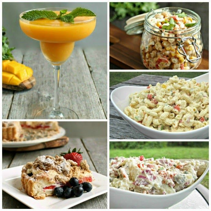memorial day appetizers and desserts