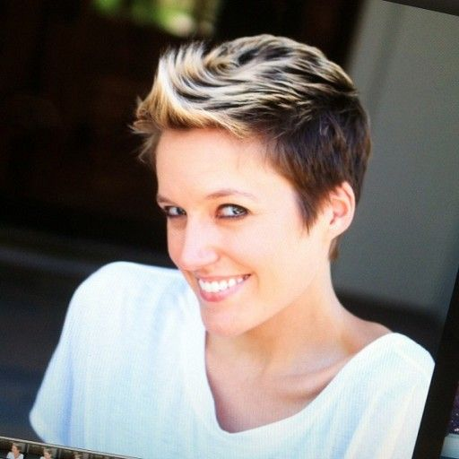 The Cancer Chronicles Hair 6 Months after Chemo via lilblueboo.com  Short