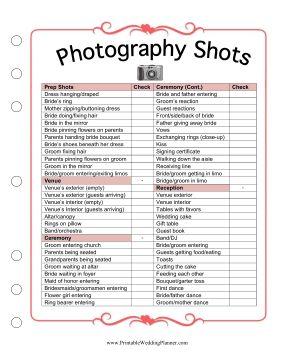 best 25+ wedding photography checklist ideas on pinterest