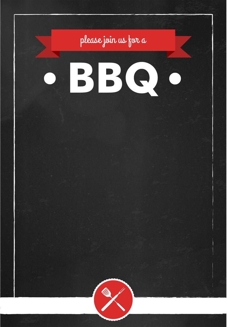 bbq party invitation templates | datariouruguay
