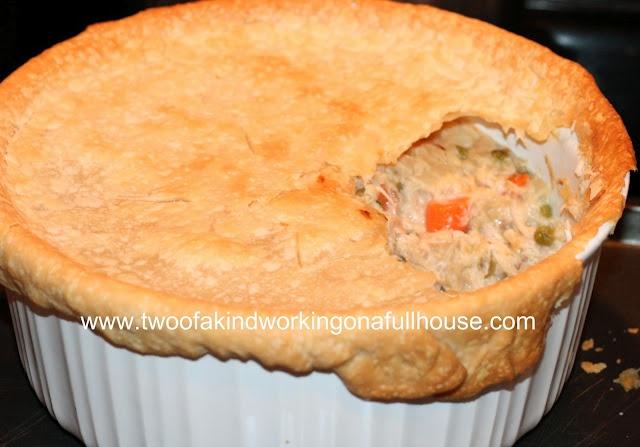 Light chicken pot pie | What's for dinner? | Pinterest