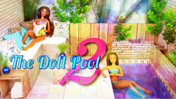 How To Make A Doll Swimming Pool 2 My Froggy Stuff Pinterest