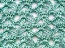 Openwork & lace crochet stitch Crochet Pinterest
